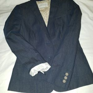 Banana Republic Indigo Blazer Jacket